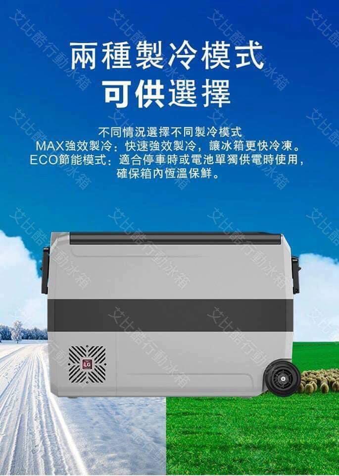 《愛露愛玩》【艾比酷】LG-Double (D)系列///行動冰箱///雙溫雙控