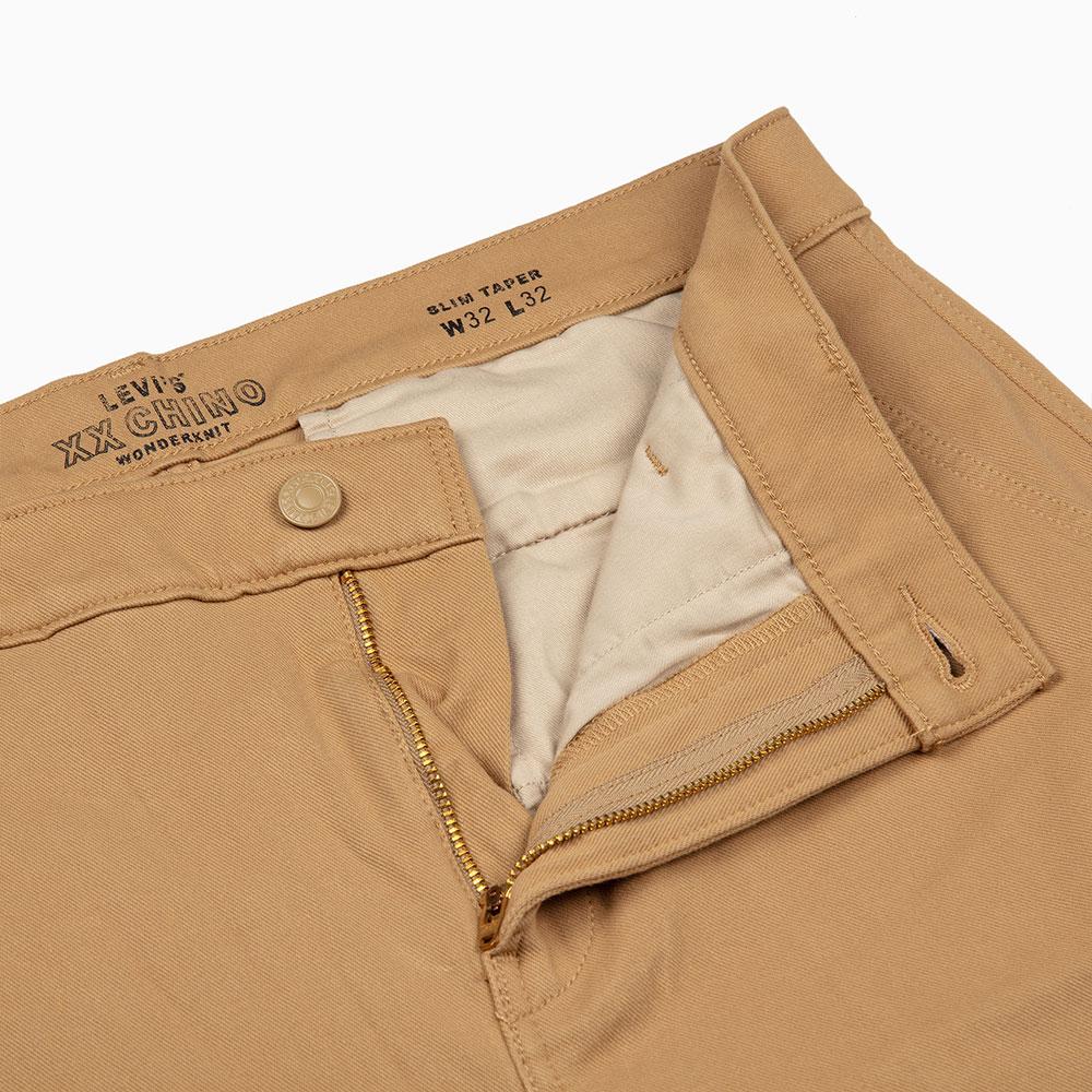 Levis 男款 Chino卡奇休閒褲  /  上寬下窄修身窄管版型  /  防盜暗袋  /  超彈力布料 6