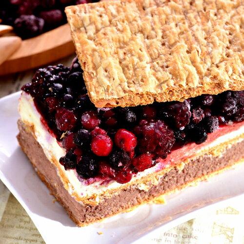 上班這黨事推薦網購美食!新登場口味【拿破崙先生】拿破崙蛋糕_繽紛莓果 1