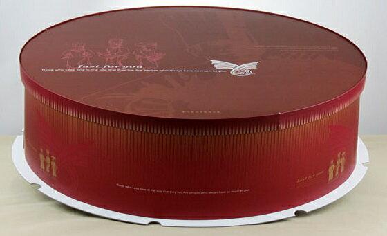【基本量】圓型蛋糕盒20吋/20個