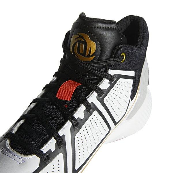 【ADIDAS】愛迪達 Rose 10 運動鞋 籃球鞋 白黑紅 男鞋 -F36778 2