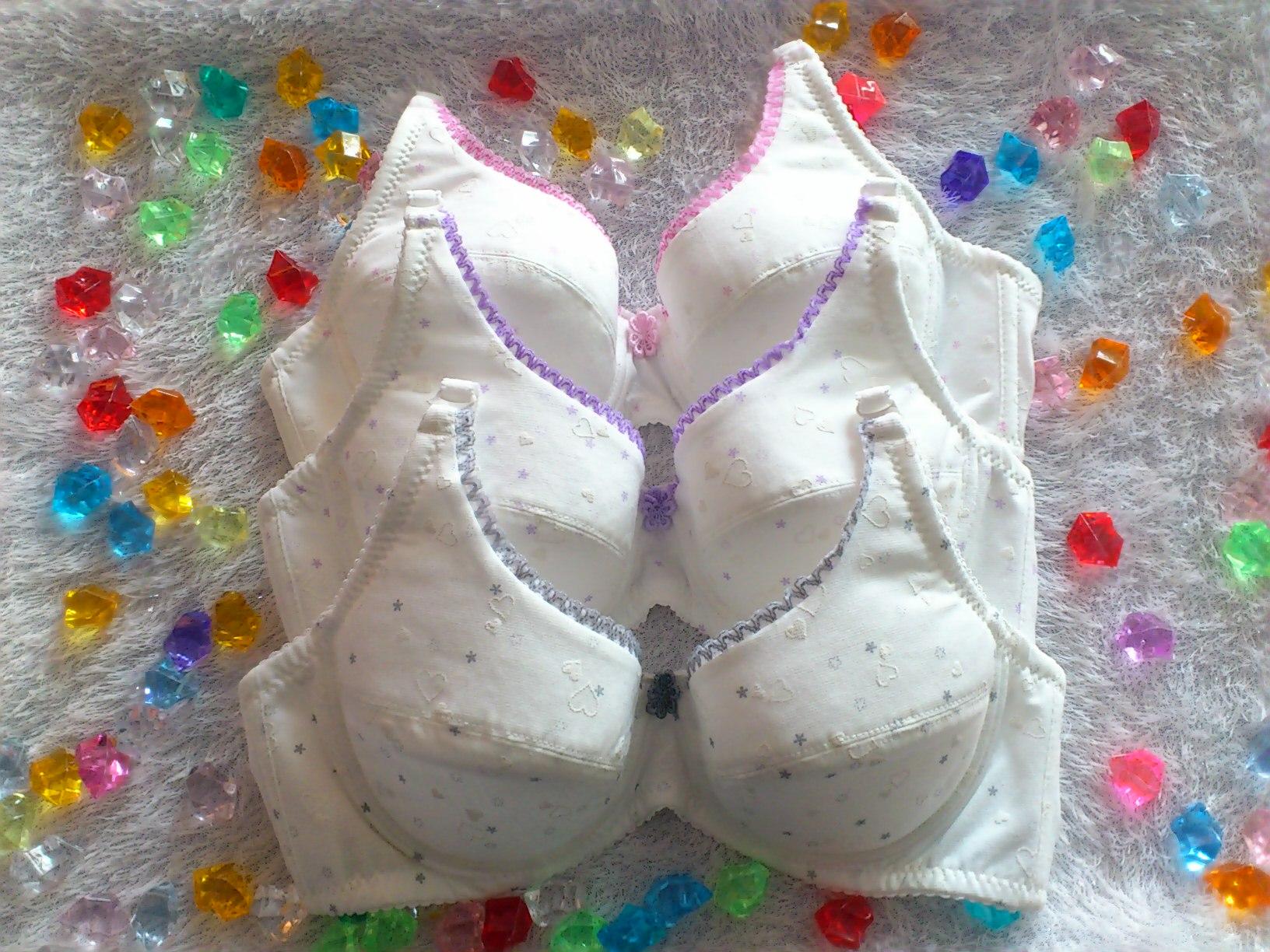 【台灣製】少女學生內衣軟鋼絲均勻襯墊可拆變換肩帶70/75/80/85/90(BC罩杯)H3500俏麗一身
