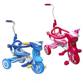 兒童折疊式三輪車-新幹線(藍/粉)【悅兒園婦幼生活館】