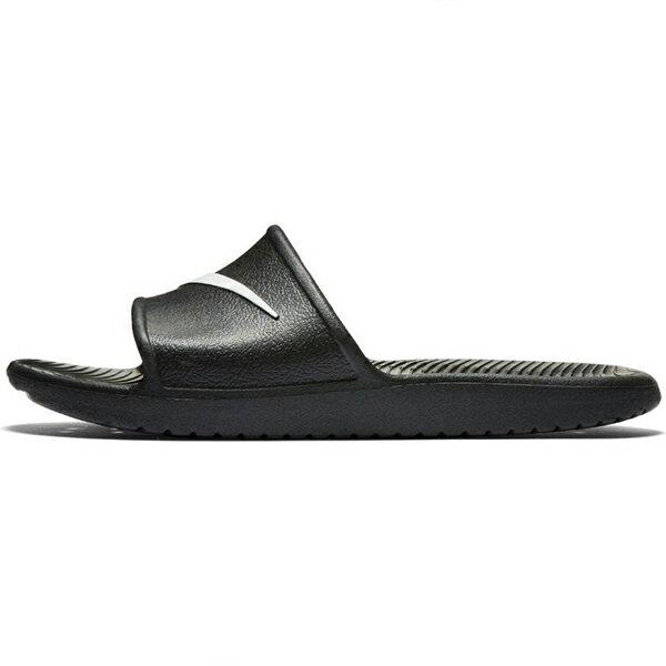 【NIKE】KAWA SHOWER 休閒 防水拖鞋 黑 男女鞋 -832528001