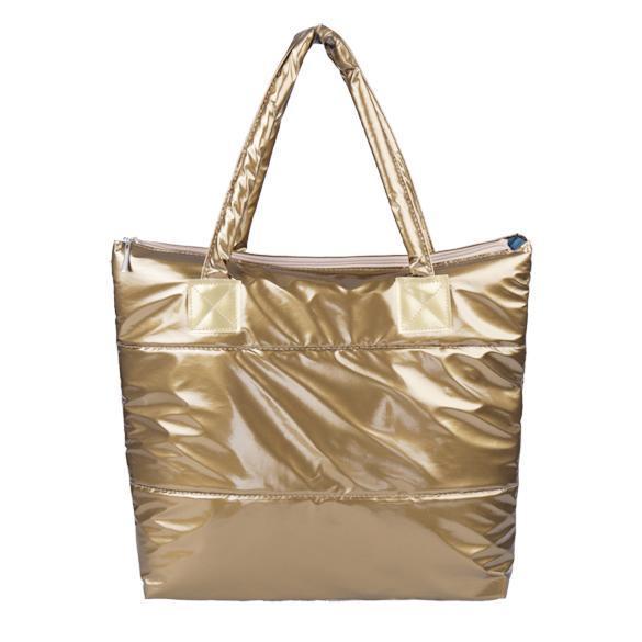 Waterproof Ladies Winter Cotton Totes Shoulder Handbag 1