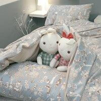 居家生活寢具推薦床包 被套 兩用被 加大床包組/Kingsiz床包組 台灣製造 棉床本舖 [鹿先生的奇幻小屋] 好窩生活節。就在棉床本舖Annahome居家生活寢具推薦