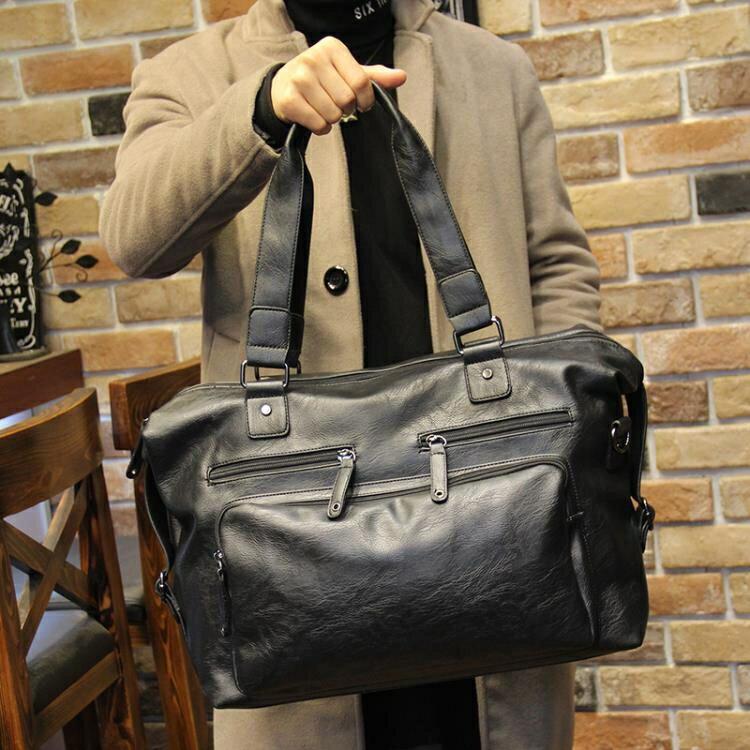 男士商務包手提包大容量旅游短途商務出差側背行李包袋  >>>新店開張全館五折<<<