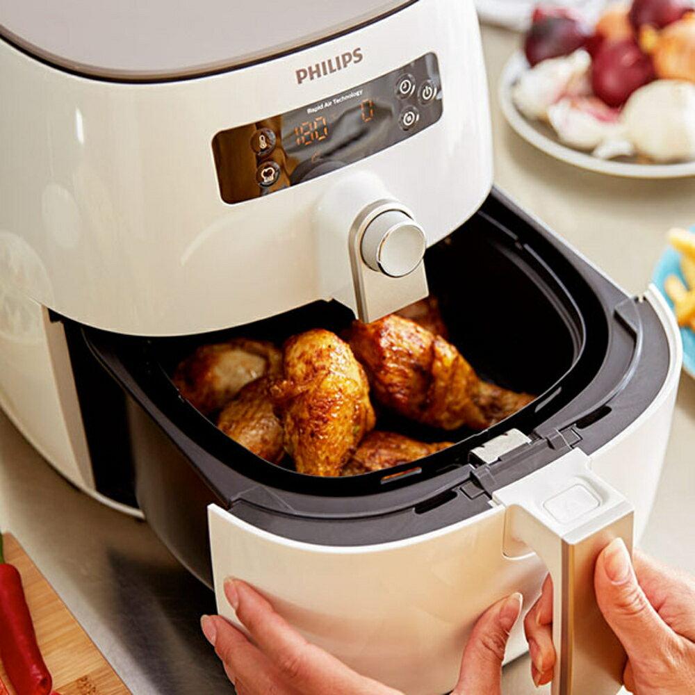 《大全配》Philips HD9642 飛利浦 健康氣炸鍋 (附噴油罐+串籤+串燒架+披薩烤盤+烘烤鍋+煎烤盤) 1