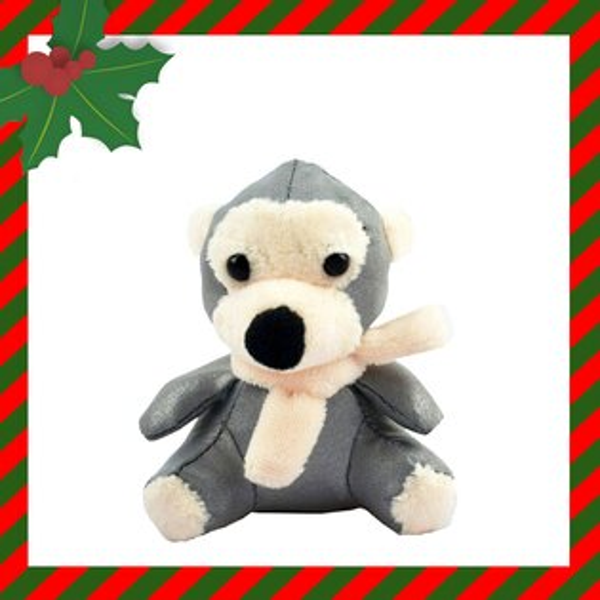 Safetylite:聖誔交換禮物首選-可愛小猴圍巾款反光吊飾-3M反光材附精美提袋