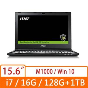 MSI微星 WS60 6QI-297TW-BB7670H16G1T0DX10P 電競筆電