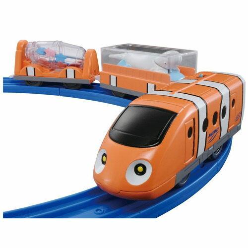 【 TAKARA TOMY 】Disney x PLARAIL 海底總動員 - 尼莫火車