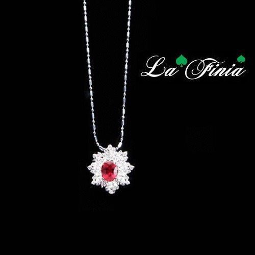 OKAY歐凱:【LaFinia】愛戀水晶項鍊