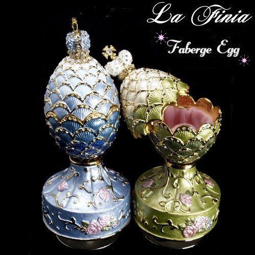 OKAY歐凱:【LaFinia】手工彩繪玫瑰教堂音樂珠寶盒(二色可選擇)