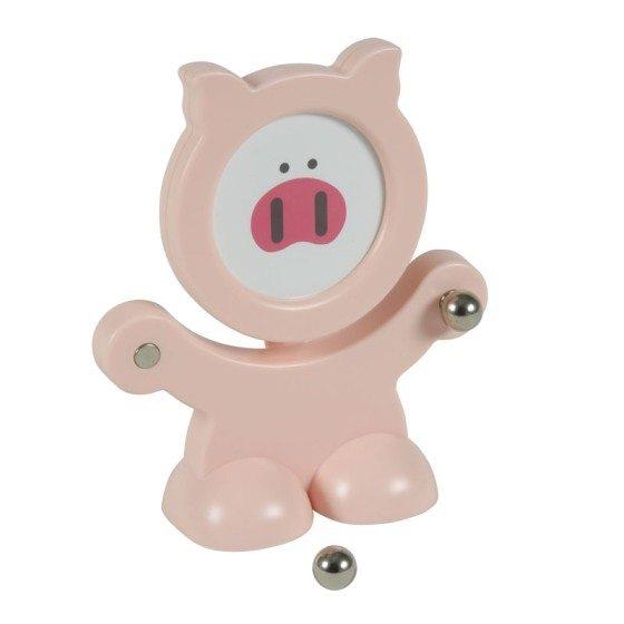 ~小豬 ~鋼珠磁鐵便條紙夾  相框