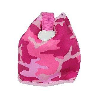 流行時尚迷彩手提包-粉紅