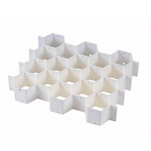 蜂巢式抽屜整理隔板(滿額299元配送商品)