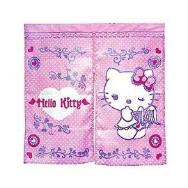 ~Hello Kitty~愛心天使門簾^(85^~85cm^)