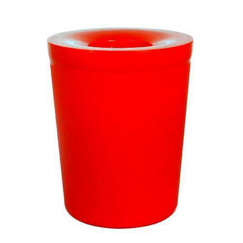 ~Simple Life~簡單  加蓋垃圾桶~6L 紅色