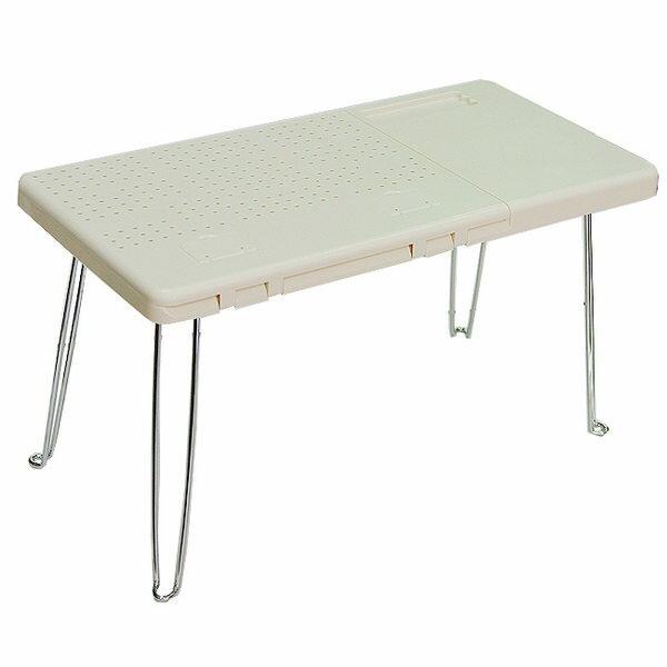 米黃點子王-可折疊電腦桌/餐桌