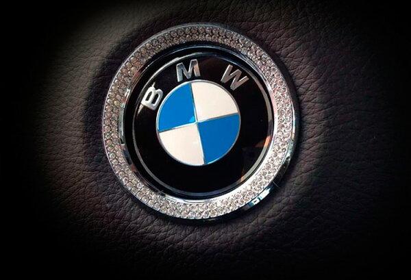 美琪BMW專用(質感升級)方向盤標帶鑽裝飾圈環內飾改裝貼