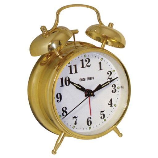 WESTCLOX 70010G Metal Twin Bell Alarm Clock b3fbfe45385d60134d26ccc94cd503f7
