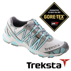Treksta SYNC II 女GTX 防水戶外多功能鞋 水藍  戶外 健行鞋 KR16BW