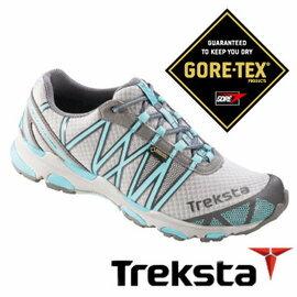 Treksta SYNC II 女GTX 防水慢跑鞋 水藍 |戶外|健行鞋 KR16BW
