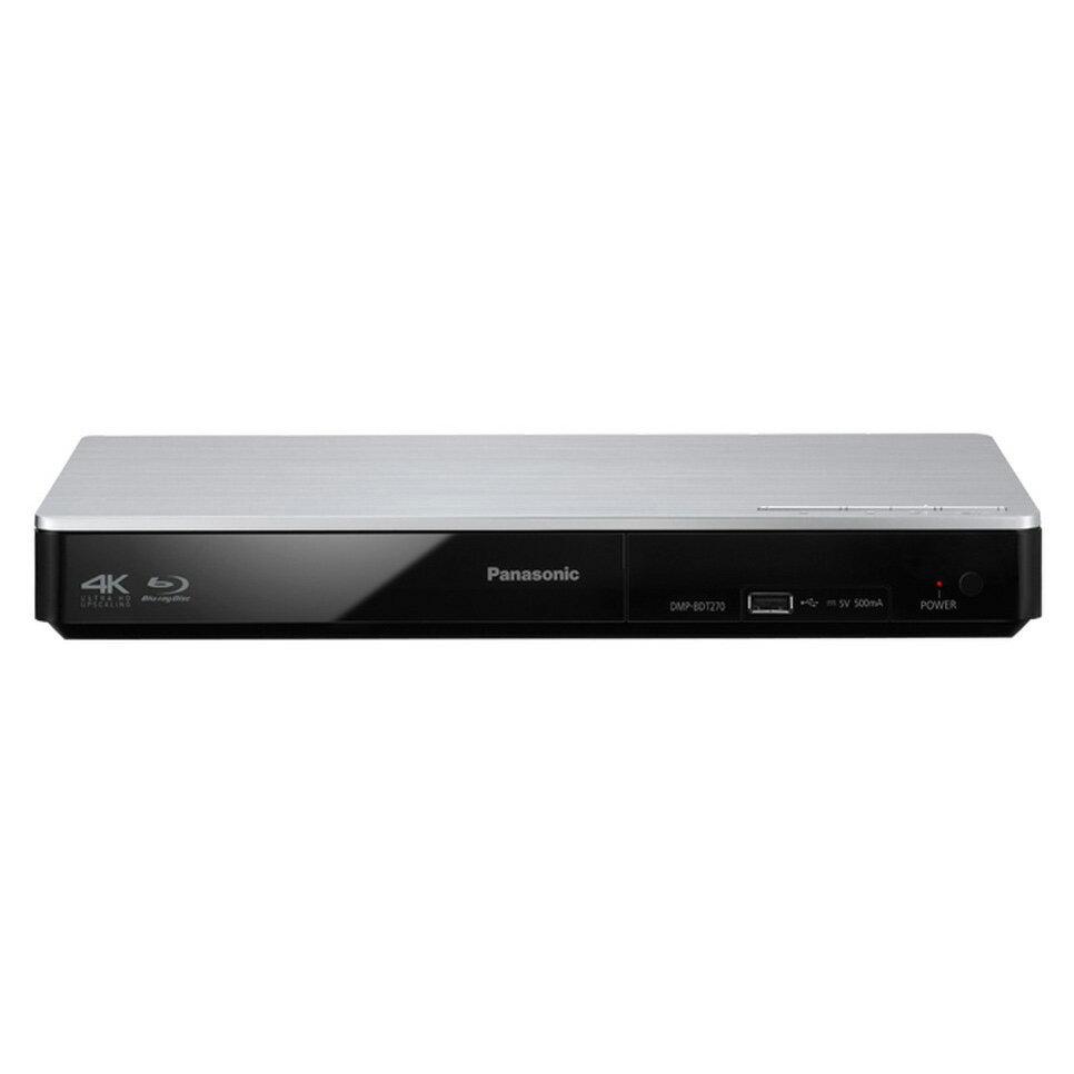 國際 Panasonic 4K升頻 3D藍光播放機 DMP-BDT270