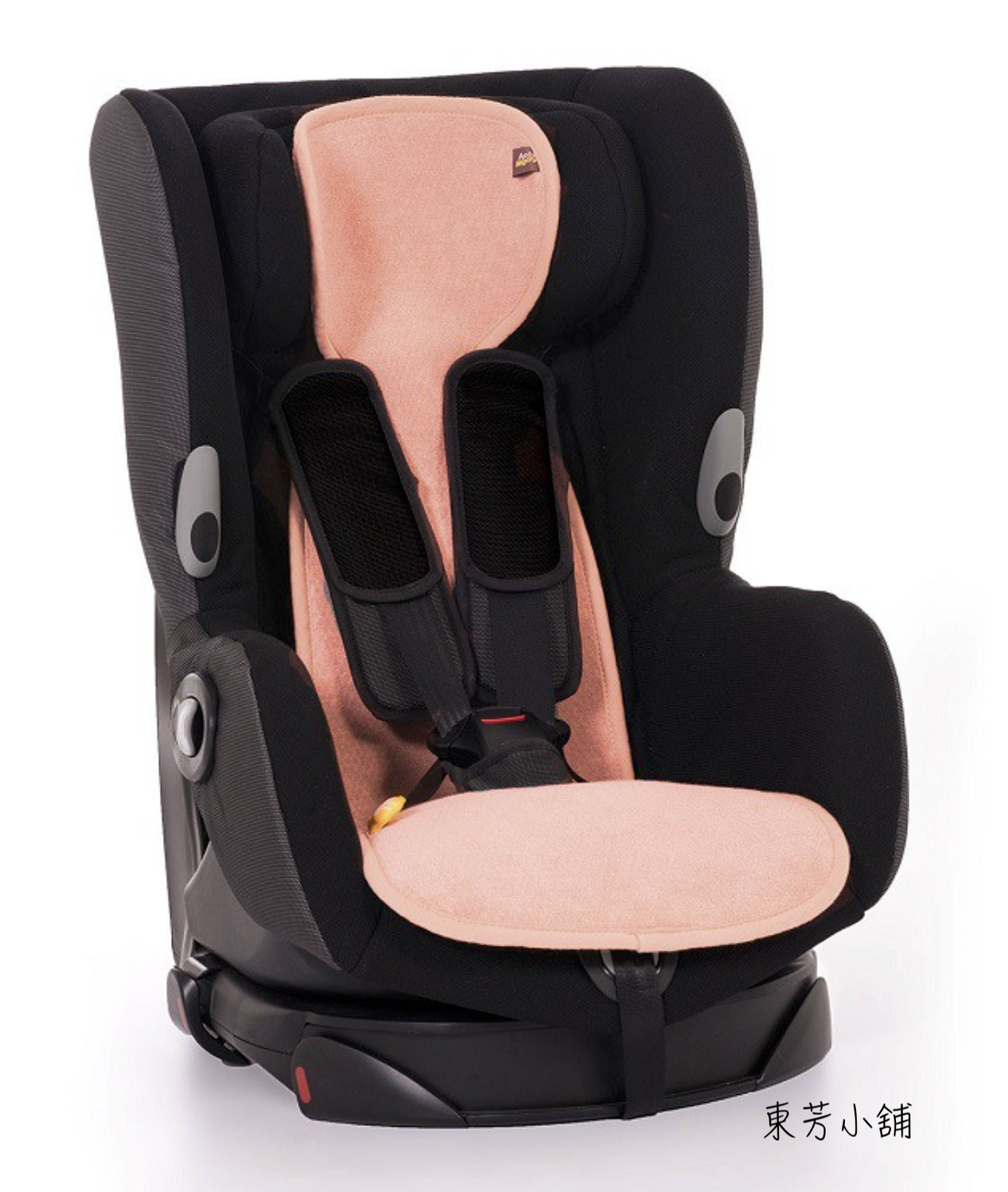 Aeromoov - 3D科技 嬰幼兒汽座透氣墊 (有機棉表層+立體透氣底布)(炭棕色/薄荷綠/火鶴紅)