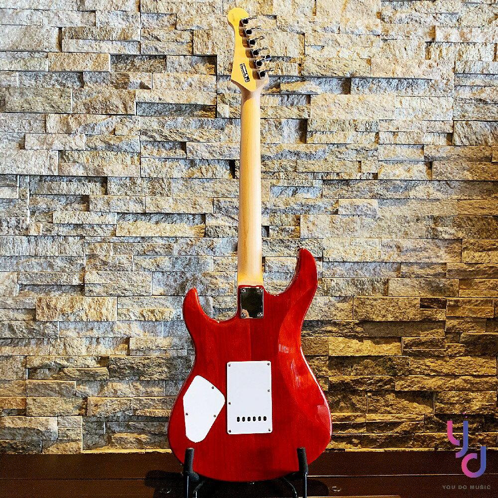 現貨免運 送千元配件 保固一年 YAMAHA Pacifica Pac 212 VQM 紅色 雲狀楓木 單單雙 電吉他