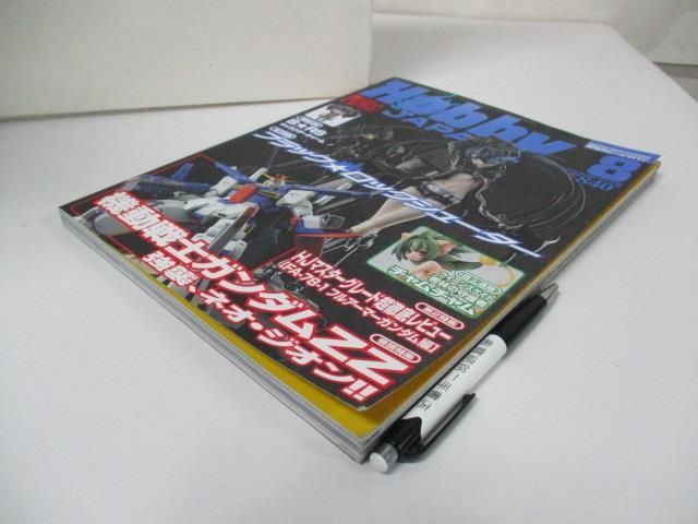 【書寶二手書T1/嗜好_EAZ】Hobby Japan_2010/8_機動戰士鋼彈ZZ_日文
