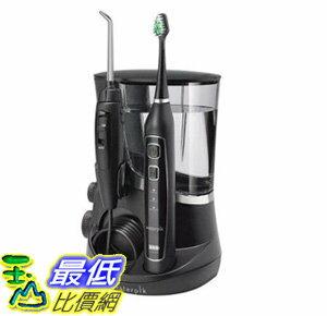 [106美國直購] Waterpik 沖牙機電動牙刷套組Complete Care 5.0 Water Flosser + Toothbrush WP-862, Black