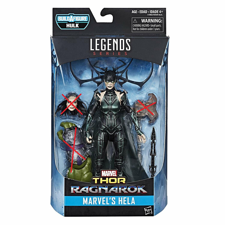 (卡司 正版現貨)Marvel Legends 6吋 漫威 雷神索爾 電影 諸神黃昏 單頭雕 海拉 Hela 不含Baf