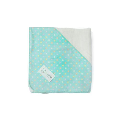 Nizio 跳跳糖嬰兒四層紗浴包巾-粉綠★愛兒麗婦幼用品★