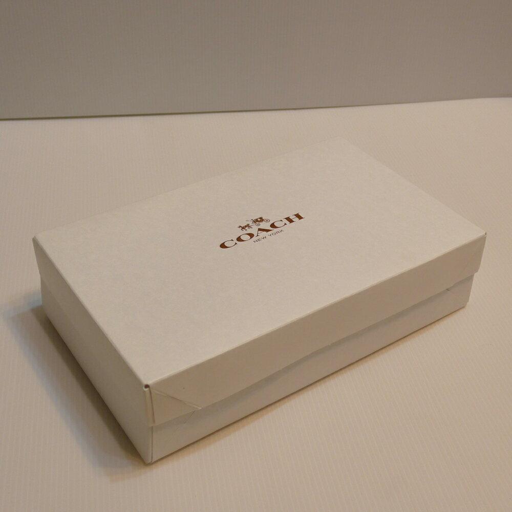 COACH長夾紙盒--白