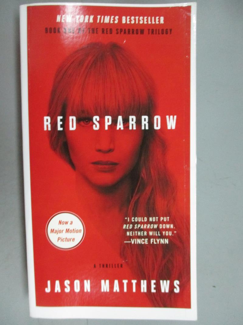 ~書寶 書T1/原文小說_GIE~Red Sparrow_Jason Matthews