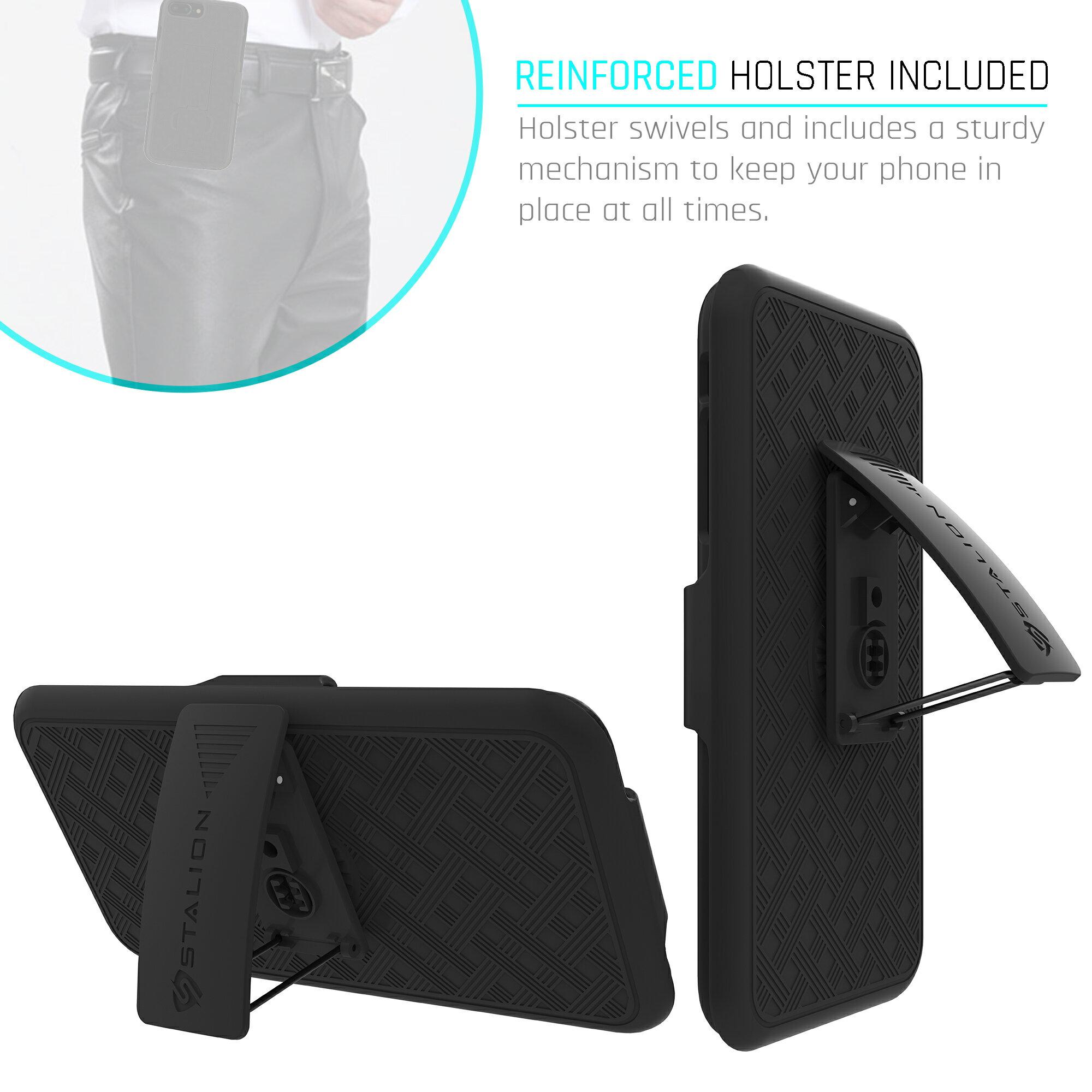 online store 9939a c1a3f Apple iPhone 7 Plus Holster Case & Belt Clip Combo