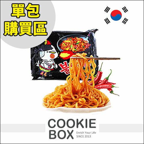韓國 samyang 火辣 火雞 泡麵 辣味 最新 單包 140g *餅乾盒子*
