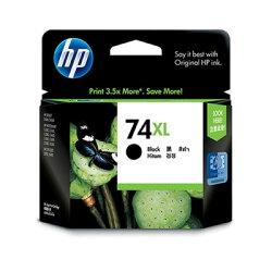 HP 原廠黑色高容量墨水匣 CB336WA 74XL 適用 PSC4280/PSC5280