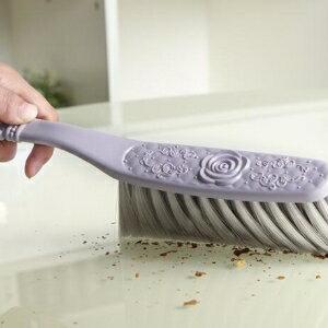 美麗大街【BF318E19】歐式雕花長柄軟毛清潔刷床刷家用掃床除塵清潔刷