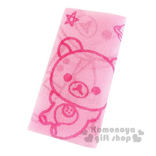 〔小禮堂〕懶懶熊 身體沐浴巾《粉.星星.火箭.星球》增添洗澡樂趣