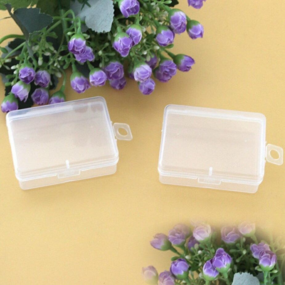 PS Mall 通用包裝盒小盒子收納盒透明塑膠盒【J1629】 2