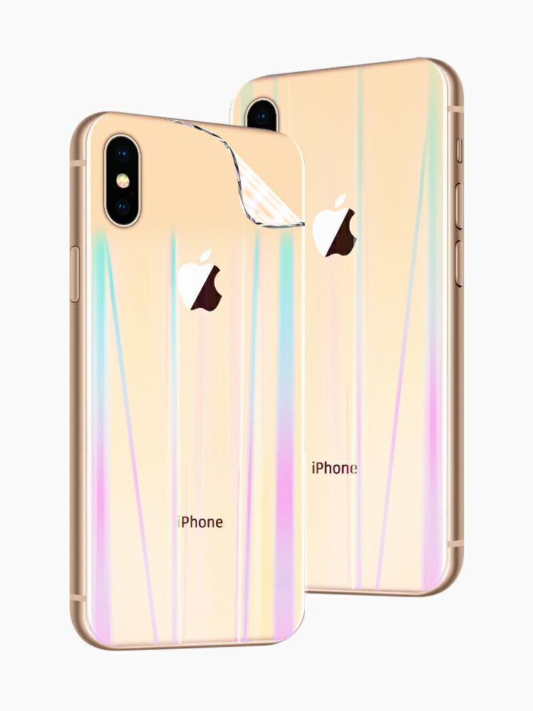 蘋果鋼化膜 蘋果x后膜iphonex水凝手機背膜xs極光磨砂xsmax貼紙iphonexs全屏覆蓋xr『XY17050』