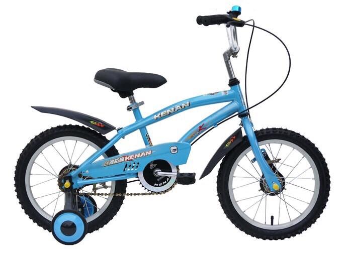 【淘氣寶寶】【格楠腳踏車-全台製】16吋腳踏車/三輪車 藍色