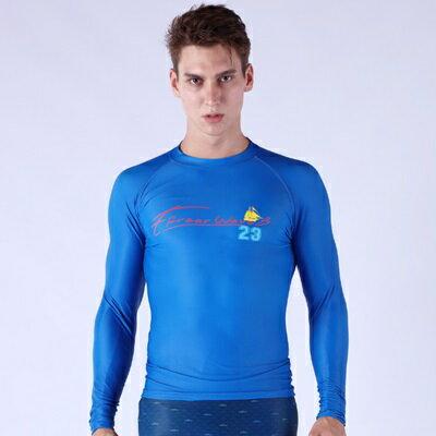 潛水衣長袖套裝水母衣-緊身衝浪舒適排汗速乾潛水服男泳衣3色73mf26【獨家進口】【米蘭精品】