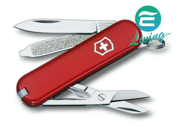 VICTORINOX 基本款7種用途瑞士刀 紅 #0.6223