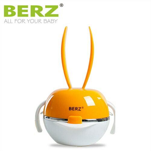 英國【BERZ】貝氏 彩虹兔五合一餐具組 (彩虹橘) - 限時優惠好康折扣