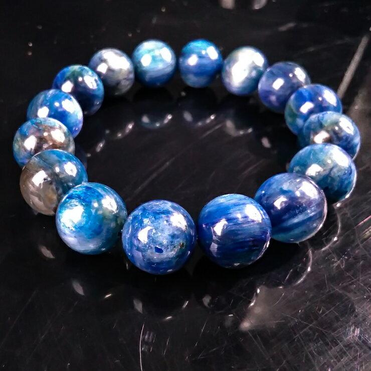 挑戰樂天最低價 手鍊 夢幻藍 天然頂級 藍晶石 手鍊 C078