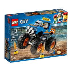 樂高積木LEGO《 LT60180 》2018 年 CITY 城市系列 - 巨輪卡車