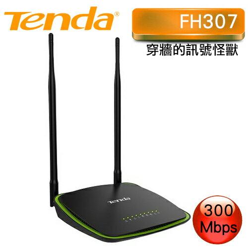 Tenda 騰達 FH307 300M 穿牆的訊號怪獸
